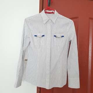 GUCCI Pockets Blouse (size38)