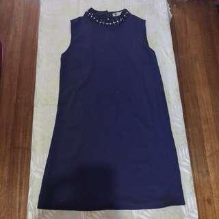 Midnight Blue Cocktail Dress