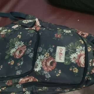 Bag Floral Navy Blue