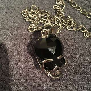 Swarovski Crystal skull Pendant With Chain
