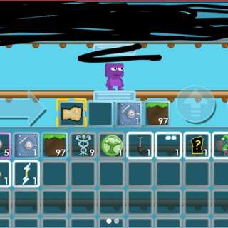DIGGER SPADE F EYE GROWTOPIA ACCOUNT