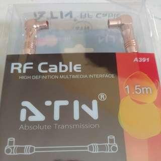 HD RF cable 1.5m 高清接收天線