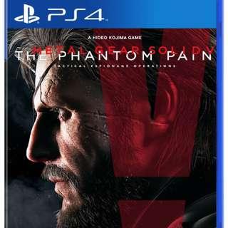 Metal gear solid 5 phantom pain ps4 game