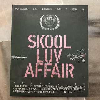 [Free Shipping!] BTS- 2nd mini : Skool Luv Affair