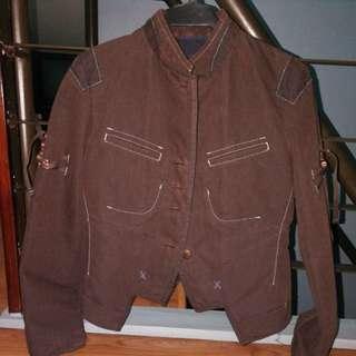 Marithe  Francois Girbaud Biker Jacket