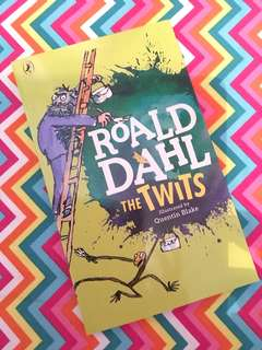 Charity Sale! Roald Dahl The Twits book