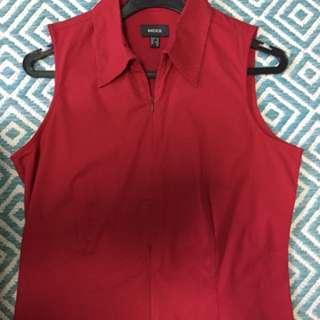 Red Mexx Dress Shirt