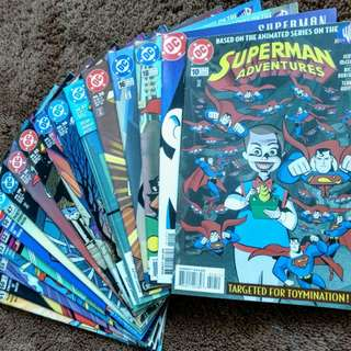 Superman Adventures Comic Book lot