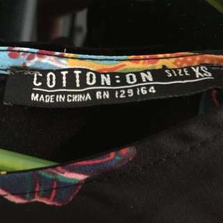Cotton on top XS