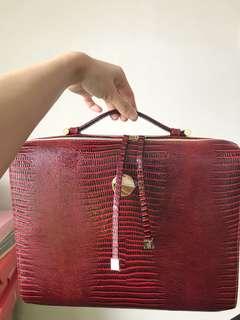 Estée Lauder Set 化妝袋 電腦袋 $50 notebook case bag