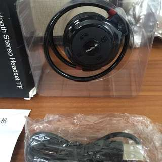 Headset sport universar wireless bluetooth New