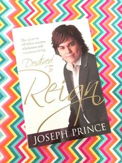 Charity Sale! Destined to Reign by Joseph Prince book