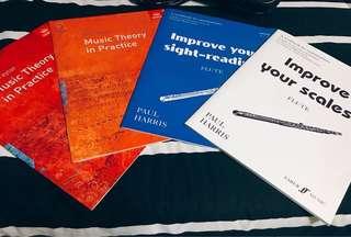 [New] Flute Books - Eric Taylor / Paul Harris