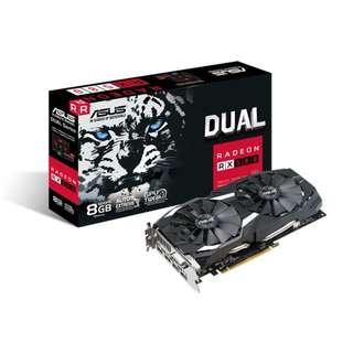 ASUS Dual series Radeon RX 580 8GB