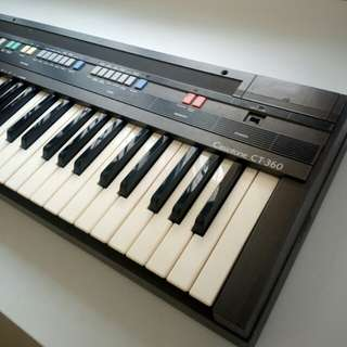 (Sold) Casio CT-360 Electronic Keyboard 電子琴
