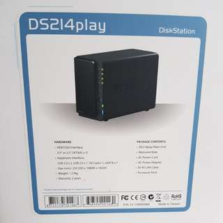 Synology DS214Play with WD NAS Drives