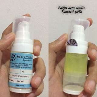 MD Glowing Acne white