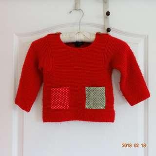 🚚 澳洲品牌 專櫃小女孩毛衣3Y #狗年一路發