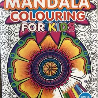 Mandala colouring book for kids - 2