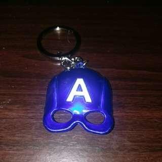 Captain America mask Keychain