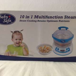 10 in 1 multifunction steamer
