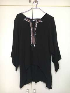 Tribal Oversized Top