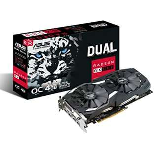 ASUS Dual series Radeon RX 580 OC edition 4GB