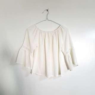 White Off Shoulder Sale!!