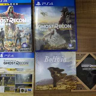 PS4 game - Ghost Recon