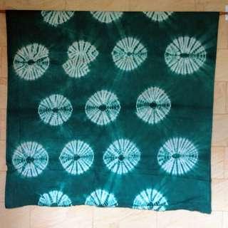 Batik Shibori hijau
