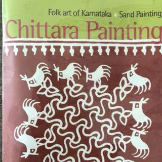 Chittara folk art sand painting kit