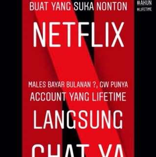 Netflix Premium Lifetime Account