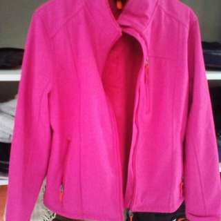 Pink Softshell Jacket Size M/L/10/12