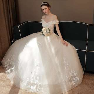 2018 new spring arrival wedding ball gown