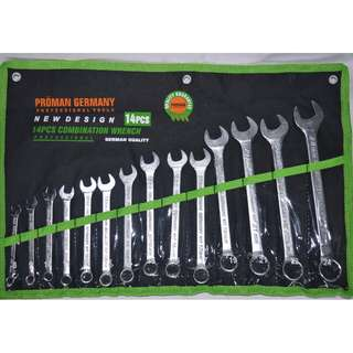 14 pieces Combination Wrench