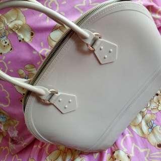 Jelly Satchel Hand Bag (Beachkin material)