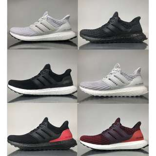 The Ultraboost 4.0 Ultimate Collection