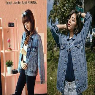 NEW Jacket Jeans Nirina Big Acid