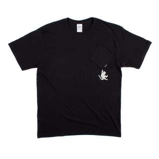 Rip N Dip Hang in There Nermal Pocket Tee in Size S
