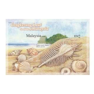 2008 Seashells of Malaysia (impef) MS Mint MNH SG #MS1529