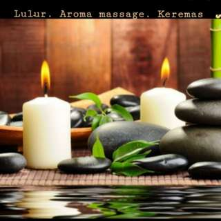 Aroma message & Scrub Lulur