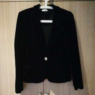 Tango Black Velvet Jacket