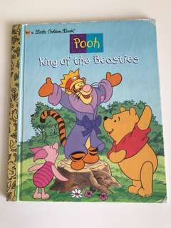 Pooh - King Of The Beasties - Little Golden Book