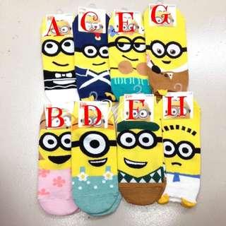 Minion Iconic Socks