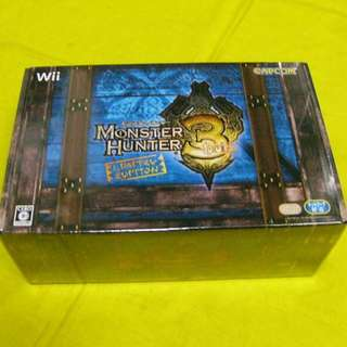Wii - Monster Hunter 3 Limited Edition game