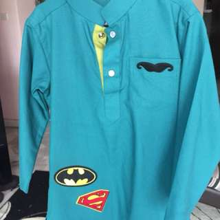 Superhero Patch Kurta