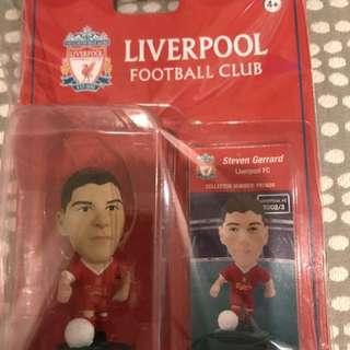 謝拉特 Steven Gerrard 絕版 ProStars 球星公仔