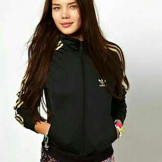 Jaket Tracktop Adidas Black Clima365 original mulus