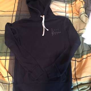 Jack Wills Navy Hoodie Hooded Sweater size UK6, Size Small Abercrombie & Fitch, Hollister