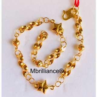 Fancy stars bracelet